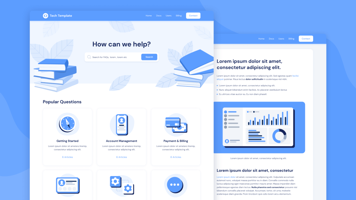 Tech - HelpScout Template